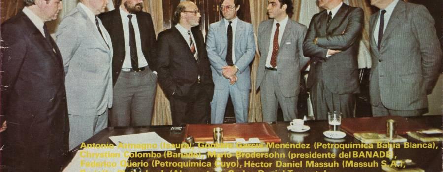Revista Mercado: Los industriales que invierten, noviembre de 1984